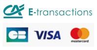 Paiement sécurisé par Crédit Agricole e-transactions